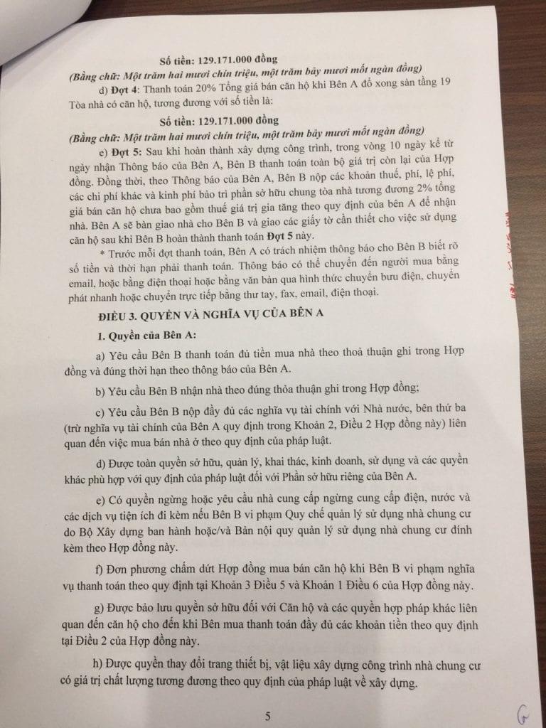 Trang 05- Hợp đồng mua bán căn hộ chung cư b21 hh02 thanh hà
