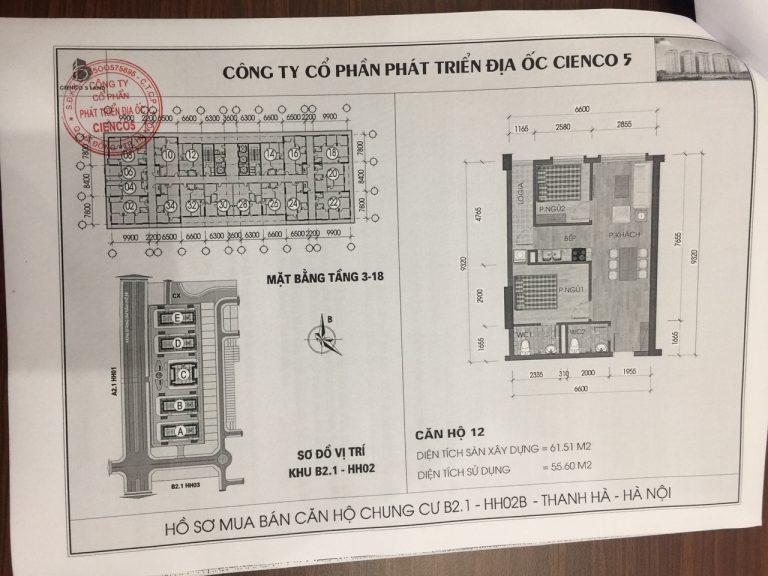 Trang 14- Hợp đồng mua bán căn hộ chung cư b21 hh02 thanh hà