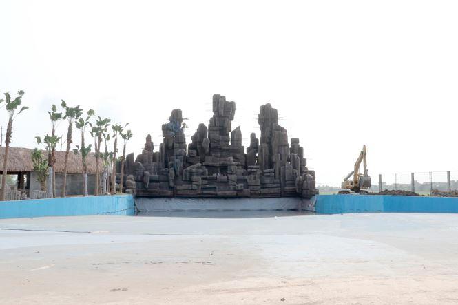 Khu tạo sóng nhân tạo trong công viên nước thanh hà