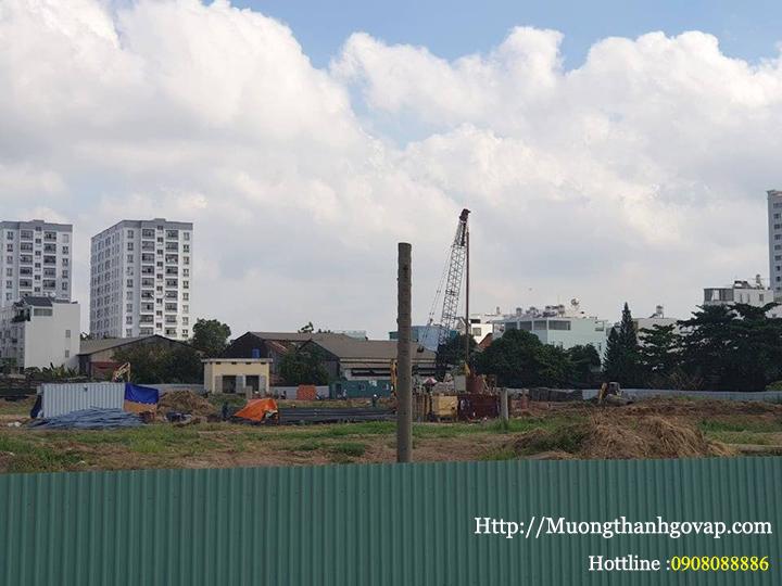 Tiến độ xây dựng chung cư mường thanh gò vấp ngày 24/04/2019-1