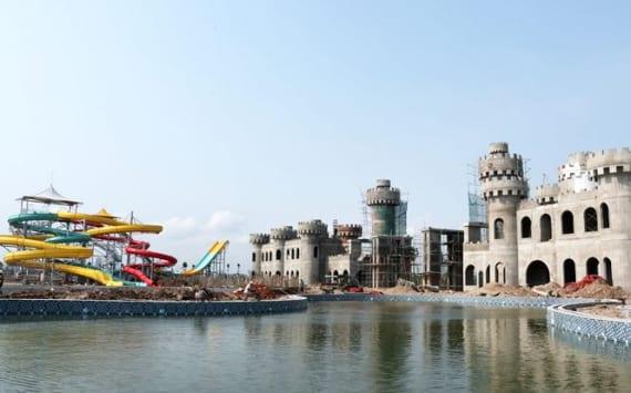 Khu vực lâu đài trò chơi