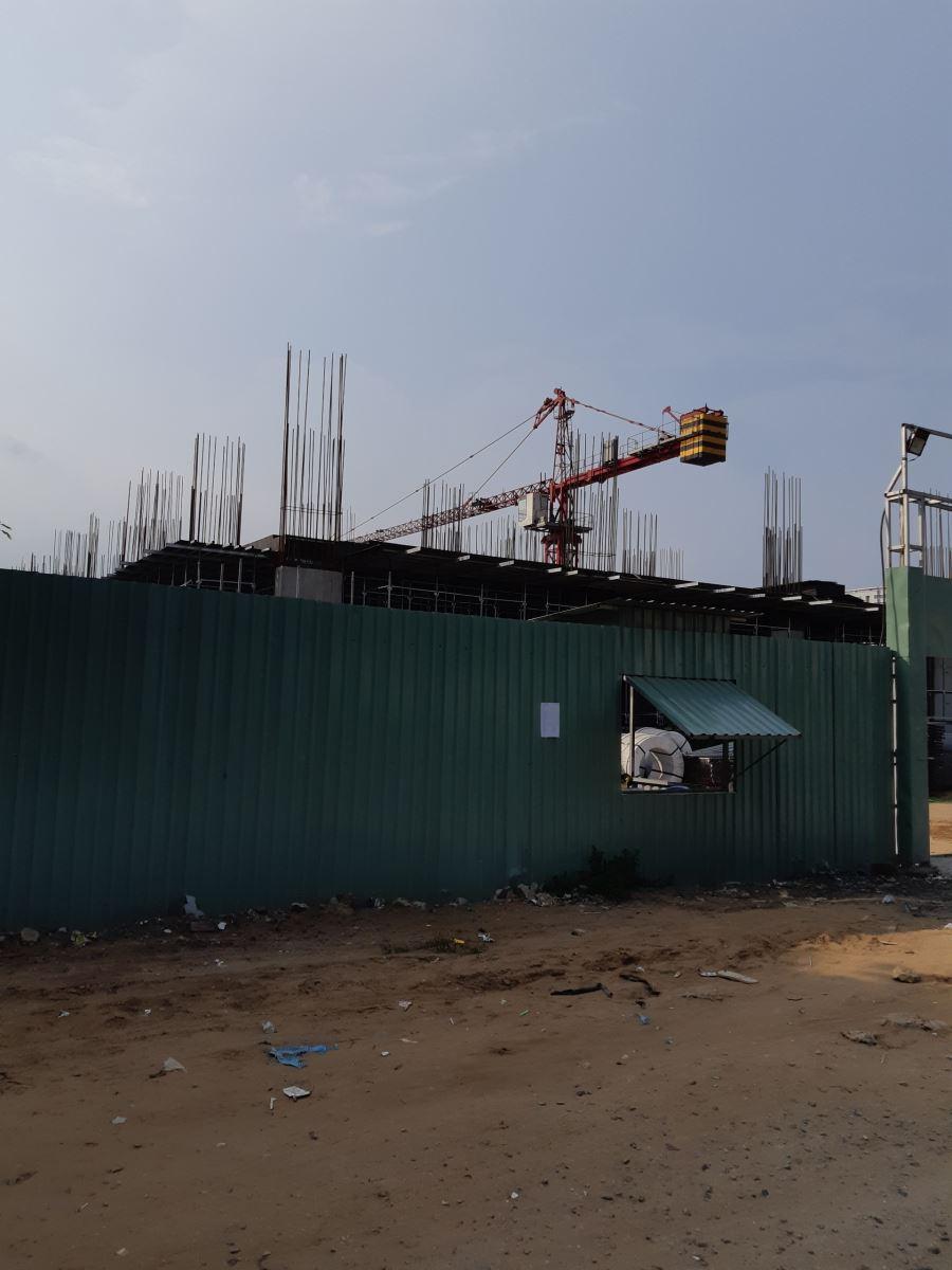 Tiến độ xây dựng dự án mường thanh gò vấp sài gòn