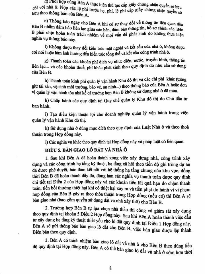 Trang 08- Hợp đồng liền kề thanh hà mường thanh cienco 5 land