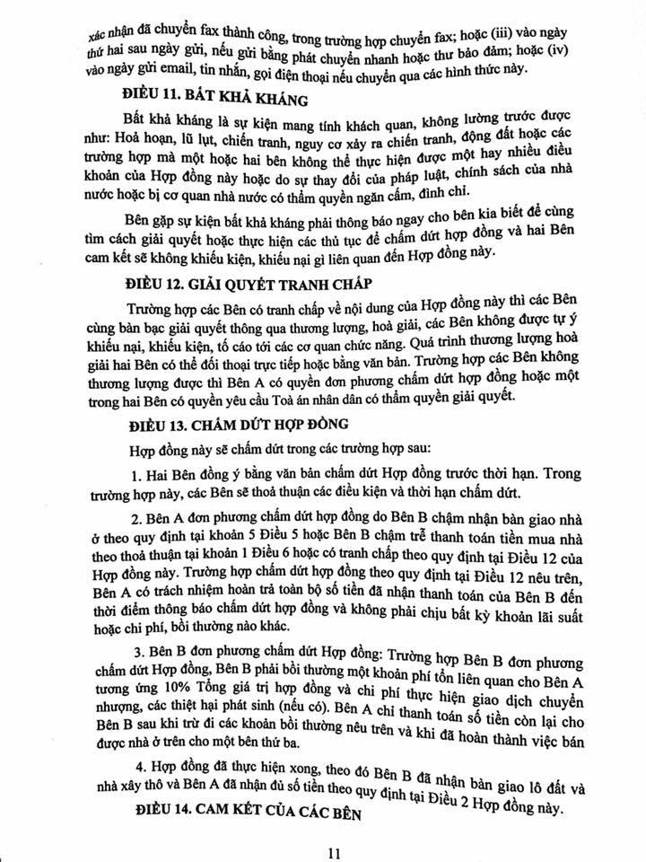 Trang 11- Hợp đồng liền kề thanh hà mường thanh cienco 5 land