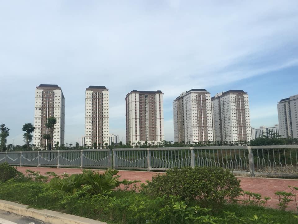 tiến độ thi công xay dựng chung cư thanh hà 5 tòa mặt đường