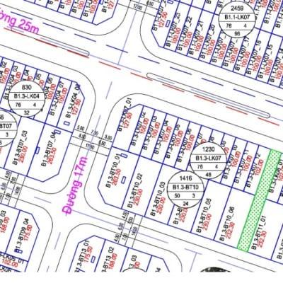 Liền kề B1.3 LK7 ô số 3 khu đô thị thanh hà