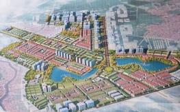 Bản đồ Tổng Thế Khu đô thị Thanh Hà Mường Thanh - Cienco 5