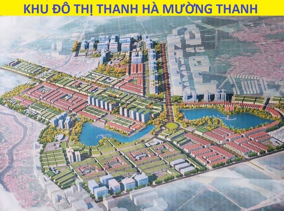 Phối Cảnh Tổng Thể Khu Đô Thị Thanh Hà Cienco 5 - Liền Kề Thanh Hà