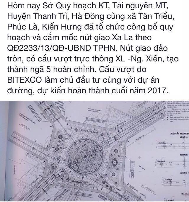 Nút giao Ngã 5 Xa La - Nguyễn Xiển