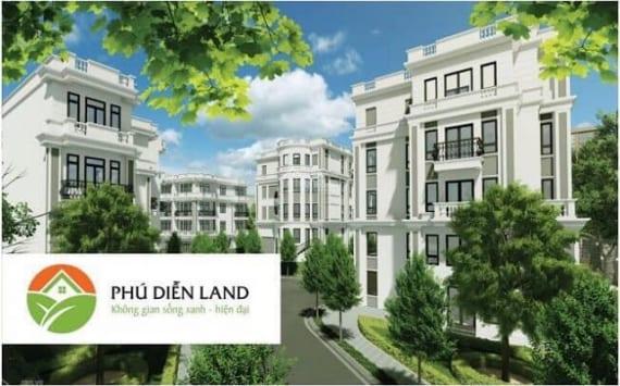 Phối Cảnh Dự án Phú Diễn Land - Liền Kề Biệt Thự Phú Diễn