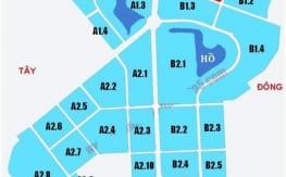 Phân khu của Khu đô Thị Thanh Hà