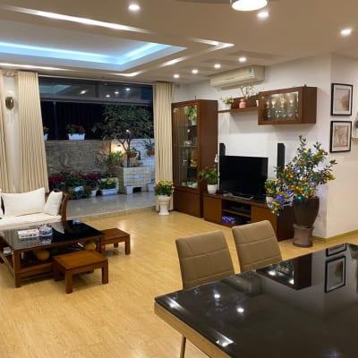 Phòng Khách Căn Hộ Penthouse HH4 Linh Đàm -01