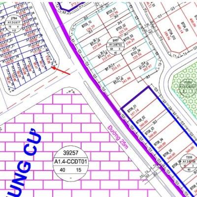 Bán Ô đất A1.2 - LK7 - ô số 11 Liền Kề Thanh Hà Cienco 5