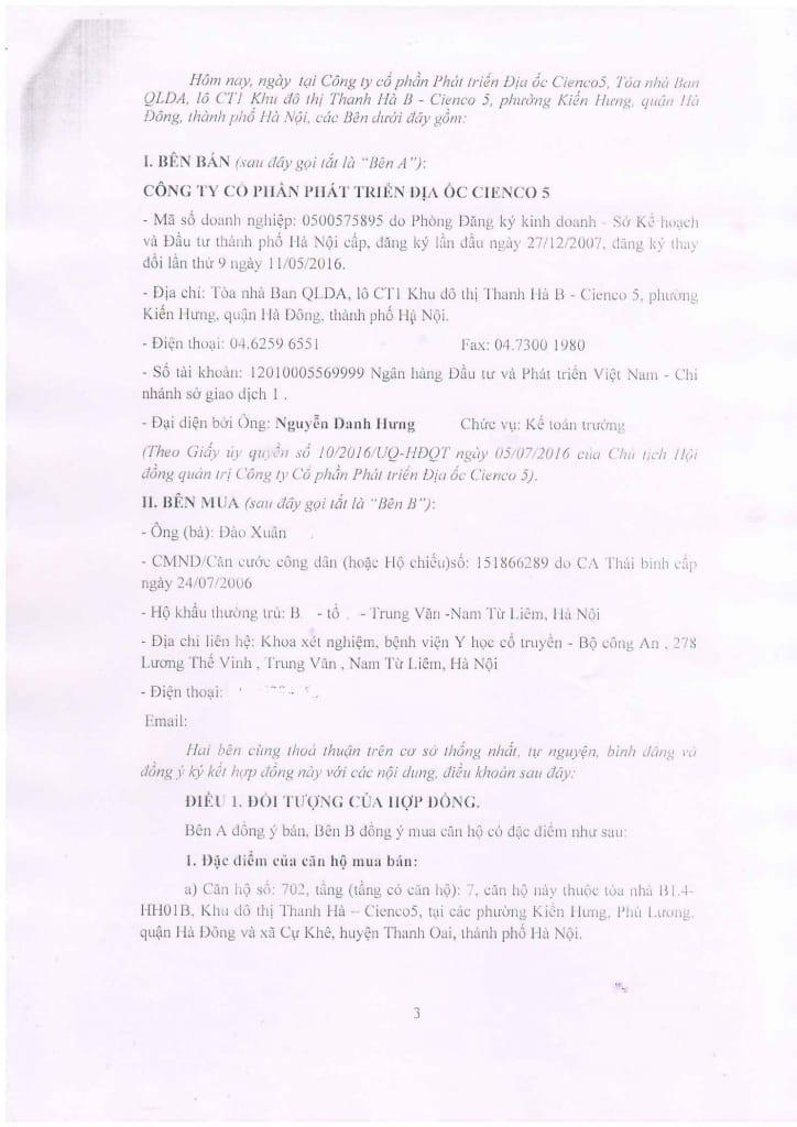 Trang 03 - Mẫu hợp đồng Chung Cư B1.4 HH01 Thanh Hà Cienco 5