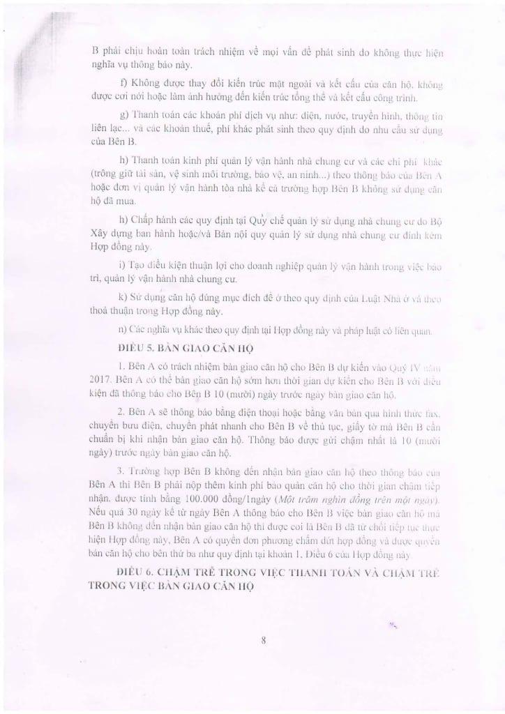 Trang 08 - Mẫu hợp đồng Chung Cư B1.4 HH01 Thanh Hà Cienco 5