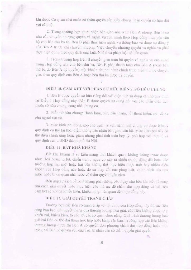 Trang 10 - Mẫu hợp đồng Chung Cư B1.4 HH01 Thanh Hà Cienco 5