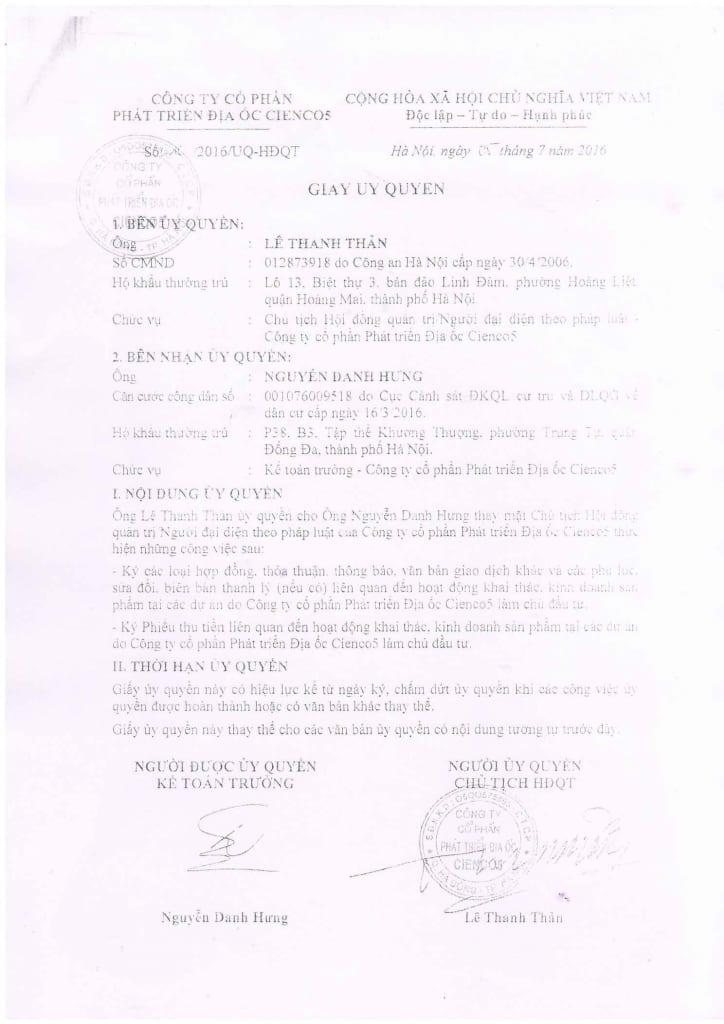 Trang 13 - Mẫu hợp đồng Chung Cư B1.4 HH01 Thanh Hà Cienco 5