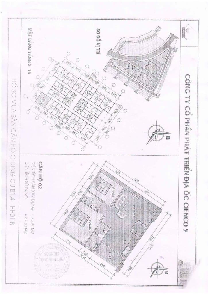 Trang 15 - Mẫu hợp đồng Chung Cư B1.4 HH01 Thanh Hà Cienco 5