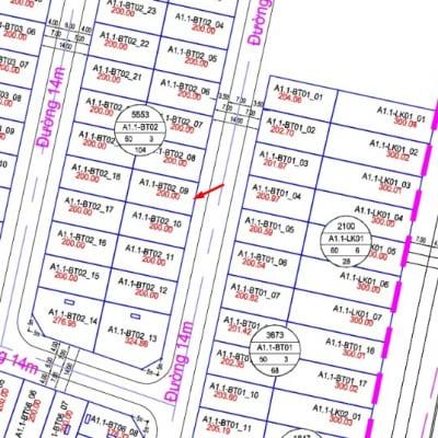 bán đất nền A1.1-BT02-ô số 9 biệt thự Thanh Hà Cienco 5