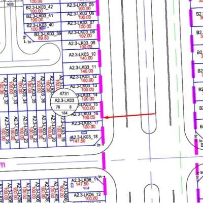 Bán Shophouse Thanh Hà Cienco 5 A2.3-LK03-Ô số 16