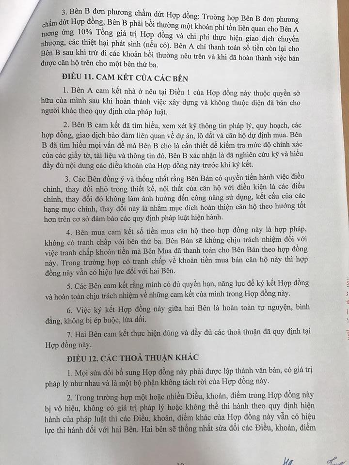 Trang 10 - Mẫu hợp đồng căn hộ Penthouse Thanh Hà Cienco 5