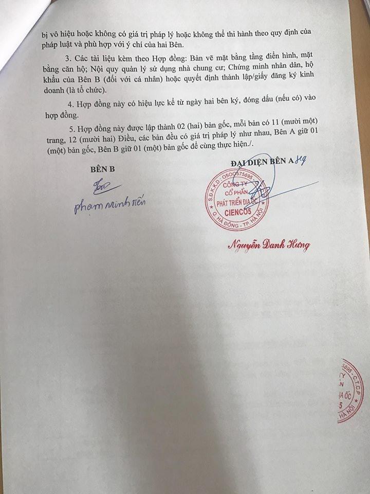 Trang 11 - Mẫu hợp đồng căn hộ Penthouse Thanh Hà Cienco 5