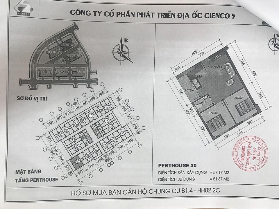 Trang 14 - Mẫu hợp đồng căn hộ Penthouse Thanh Hà Cienco 5