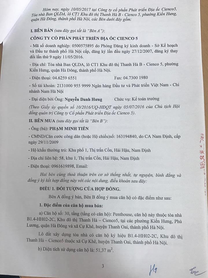 Trang 03 - Mẫu hợp đồng căn hộ Penthouse Thanh Hà Cienco 5