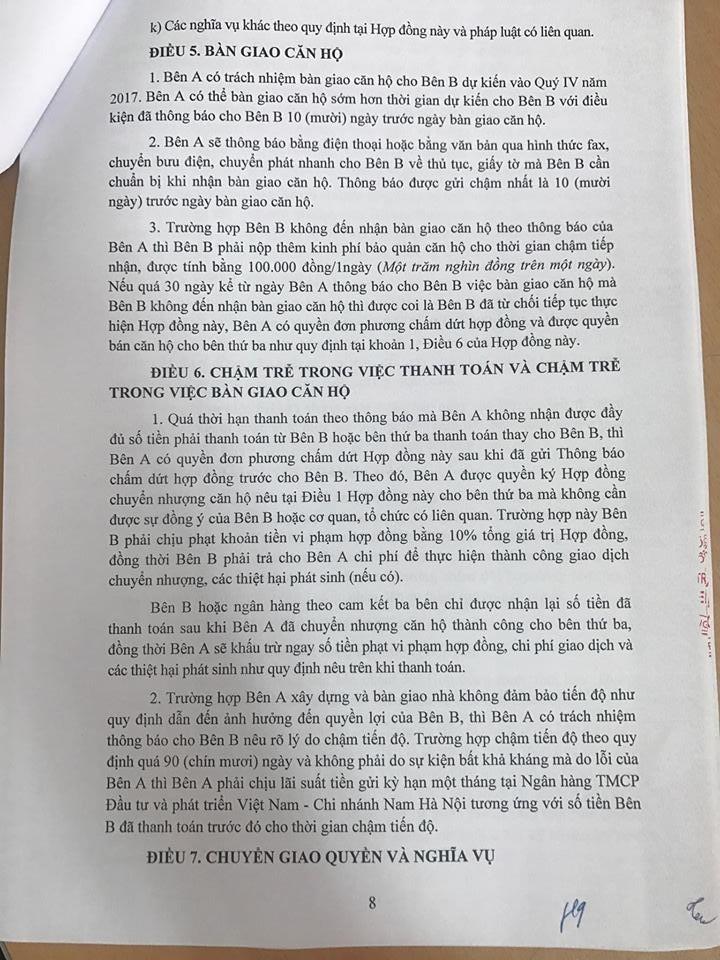 Trang 08 - Mẫu hợp đồng căn hộ Penthouse Thanh Hà Cienco 5