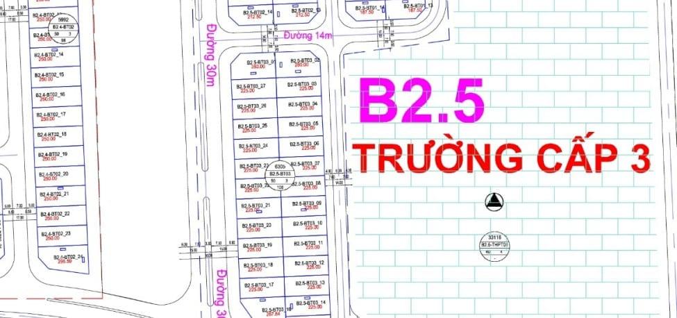 Bán Gấp Biệt Thự B2.5-BT03-ô số 3 Thanh Hà