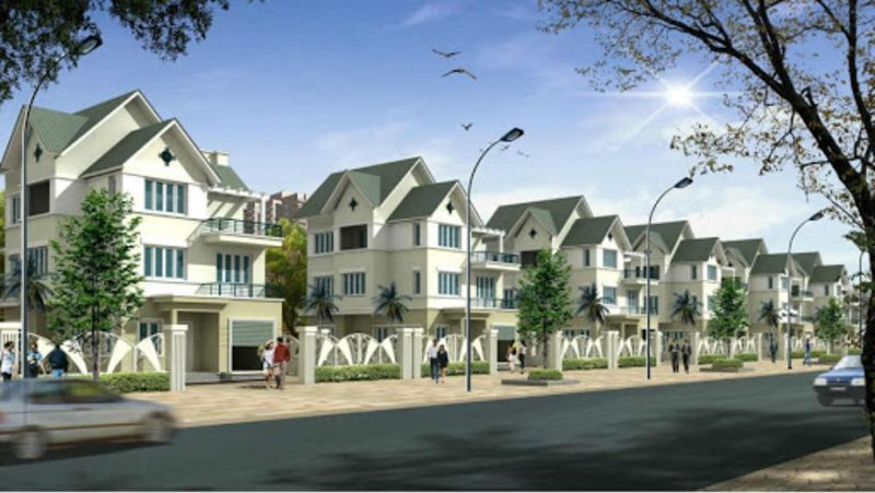 Phối Cảnh Biệt Thự Khu đô Thị Thanh Hà