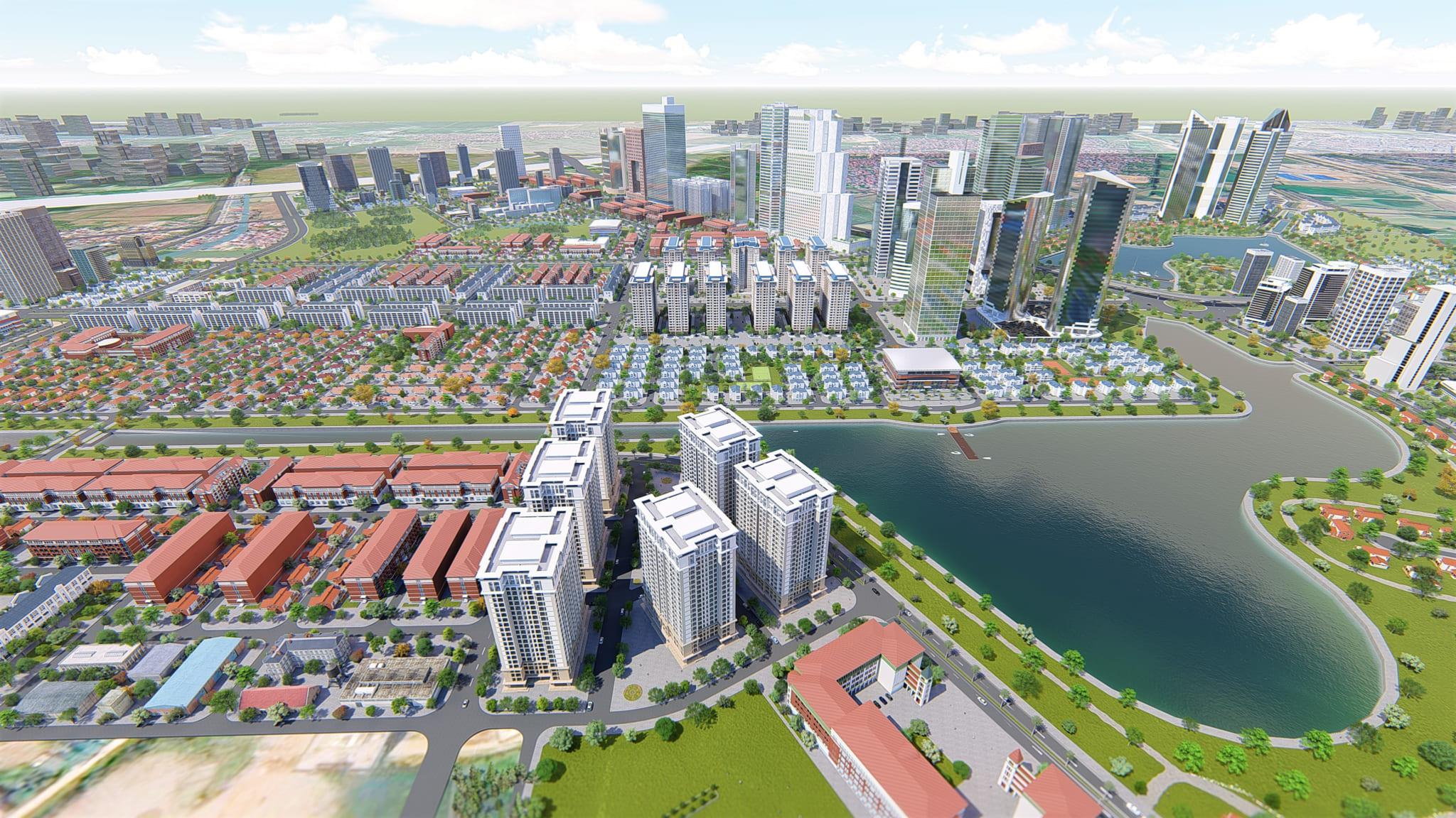 Khu đô thị Thanh Hà Hút Khách Hàng