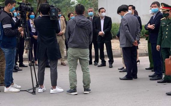 Chủ tịch UBND.TP Hà Nội Về Thăm Dự án Khu đô thị Thanh Hà