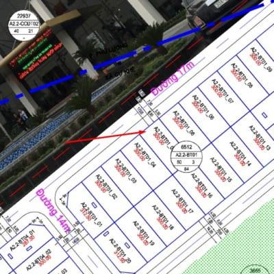 Bán gấp ô biệt thự Thanh Hà Cienco 5 A2.2 - BT01 - ô số 5