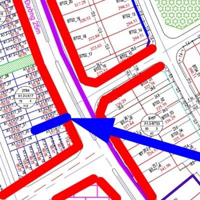 Bán liền kề Thanh Hà đường 25m A1.2 - Lk17 0 ô số 9