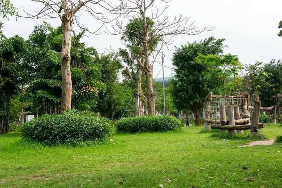 Công viên cây xanh ở khu đô thị Thanh Hà