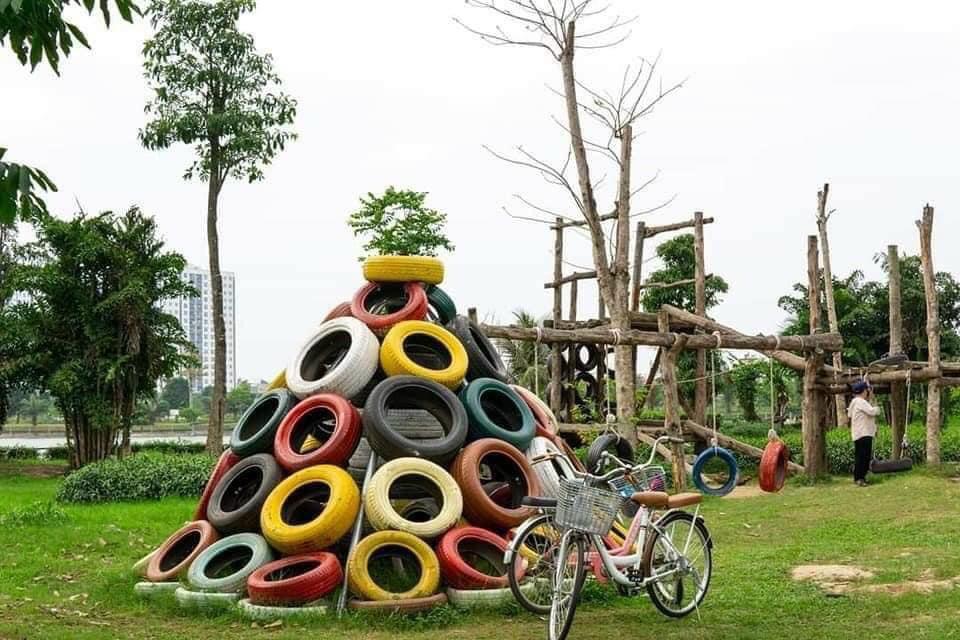 Khu vui chơi công viên Sasuke Thanh Hà Mường Thanh