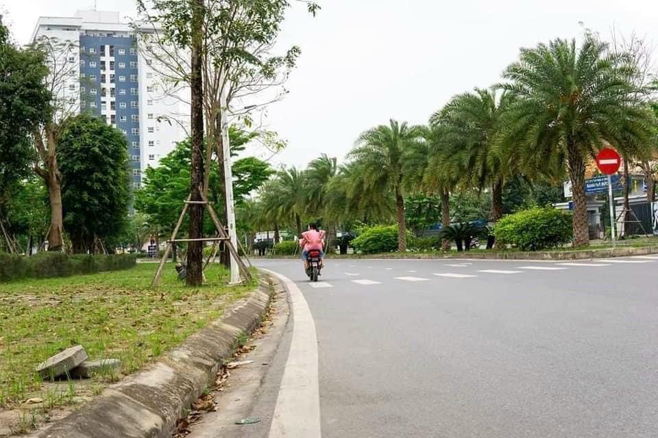 Đường 30m Nội khu đô thị Thanh Hà