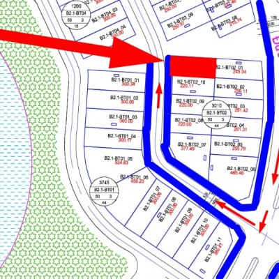 Bán biệt thự gần hồ Thanh Hà B2.1 - BT02 - ô số 11