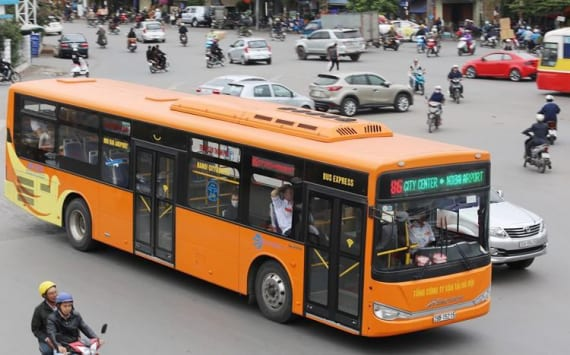 Mở tuyến xe buýt đi từ khu đô thị Thanh Hà ra sân Bay Nội Bài