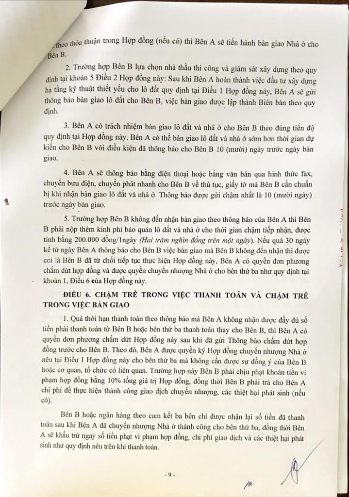 Trang 9 - Hợp đồng Mua bán Shophouse Thanh Hà Cienco 5