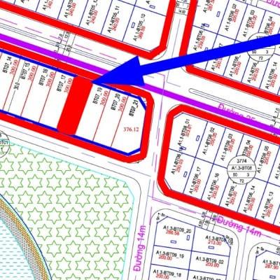 bán biệt thự view hồ Thanh Hà B1.3 - BT07 - ô số 18