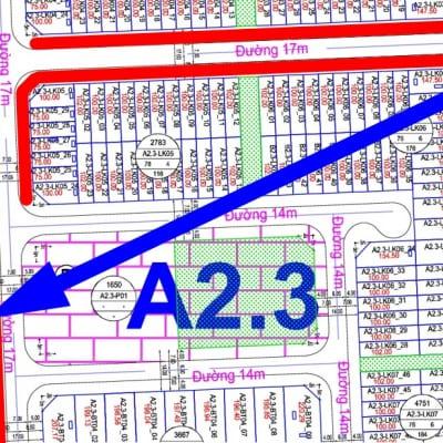 bán biệt thự thanh hà đường 17m A2.3 - BT02 - ô số 6