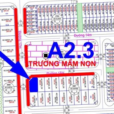 bán biệt thự Thanh Hà A2.3 - BT03 - Ô số 1